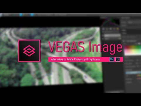 VEGAS Image. Alternative to adobe Photoshop & Lightroom?