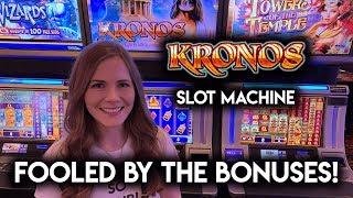 Kronos Slot Machine!! BONUSES!! Happy April Fools Everyone!!