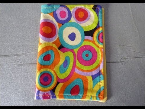 How to make a book cover - YouTube