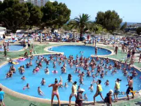 Club dance Hotasa Samoa Hotel in Mallorca