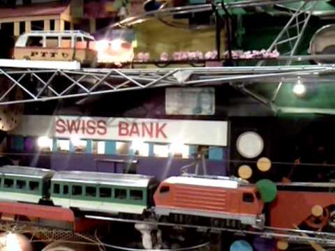 Tour of Switzerland mechanical contraption