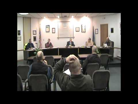 Rouses Point Village Board Meeting  2-1-16
