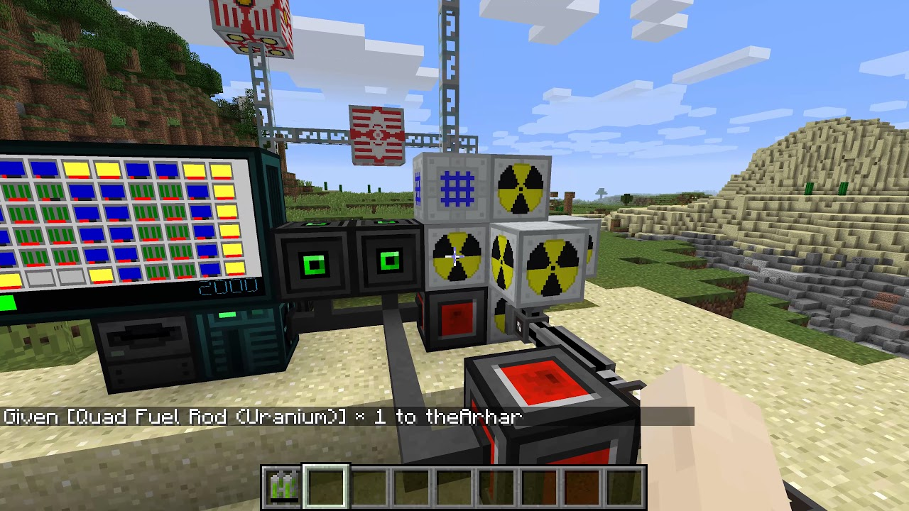 Nuclearcraft Fission Reactor Design