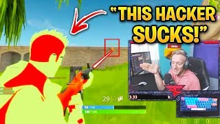 Fortnite Streamers WHO OWNED HACKERS! (Tfue, Ninja, Courage)