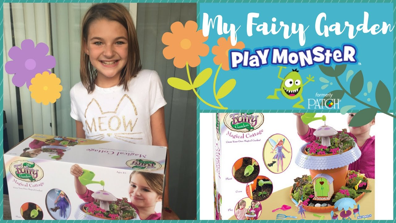 My Fairy Garden Magical Cottage Play Monster Toys Youtube