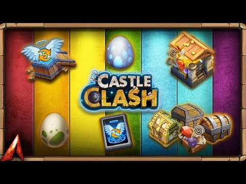 Lv.5 Crest Set Opening! Events Galore After Getting Rockno! Castle Clash