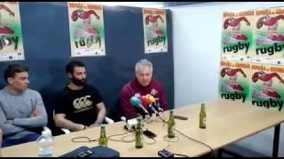 Georgia en la rueda de prensa España 10-20 Georgia en Medina del Campo (parte 1)