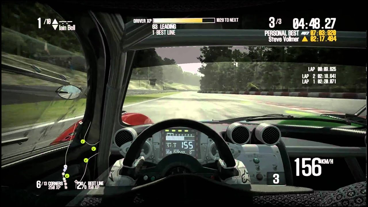 Need For Speed SHIFT 2 Unleashed Pagani Zonda R (Circuit de Spa ...
