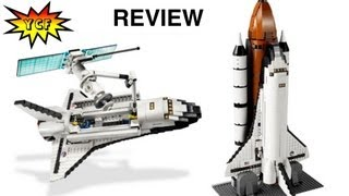 LEGO Shuttle Expedition Review Set 10231 Space Shuttle with 3 Minifigures Expert