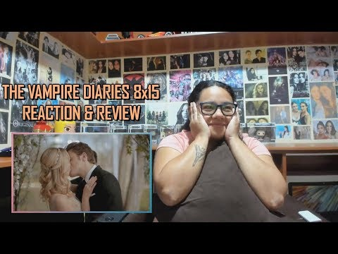 """The Vampire Diaries 8x15 REACTION & REVIEW """"We're Planning A June Wedding"""" S08E15   JuliDG"""
