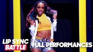 "Rachel Lindsay Performs ""Shoop"" & ""Sorry Not Sorry"" 