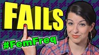 8 Anita Sarkeesian FAILS | #FemFreq