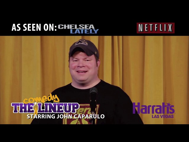 John Caparulo's Residency at Harrah's Las Vegas