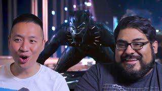 Black Panther Teaser Trailer Reaction and Review