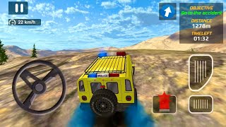 Police Car Chase Cop Simulator - police Car go to accident place #41 - Android Gameplay screenshot 2