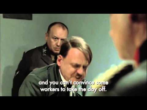 Hitler Finds Out About Black Friday Strikes