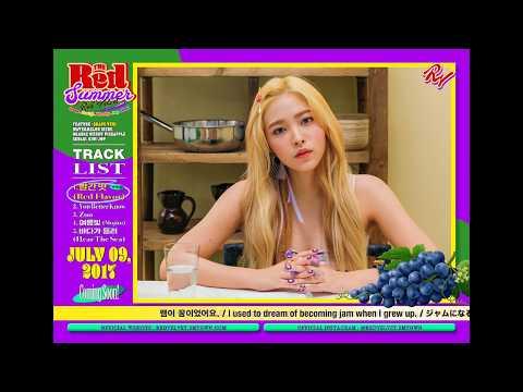 """Red Velvet Summer Mini Album """"The Red Summer"""" Teaser Collection (Yeri Ver)."""