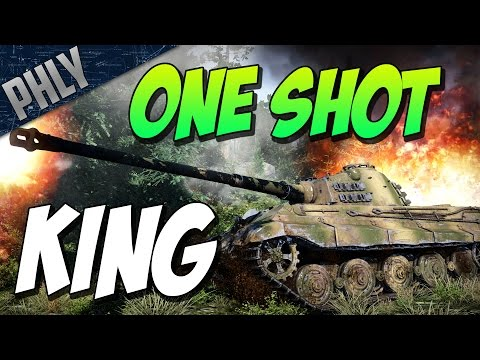 War Thunder - ONE SHOT KING TIGER! BEAST GAME!