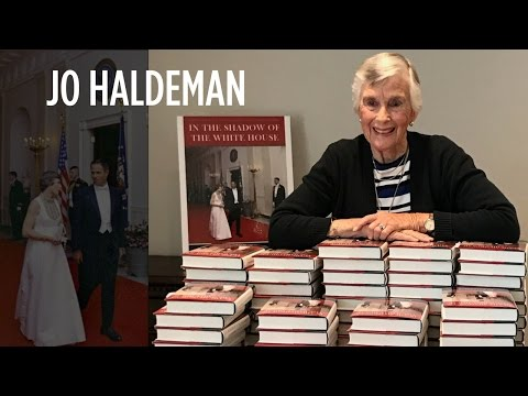 Jo Haldeman at the Nixon Library | Richard Nixon Presidential Library and Museum