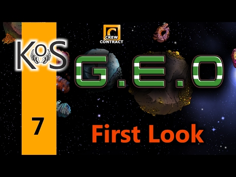 Geo Ep 7: Building the Base - First Look - Let's Play, Gameplay