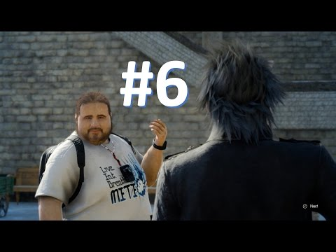 Final Fantasy XV - Just The Story Part 6 - Taking Some Pictures, Making Some Money