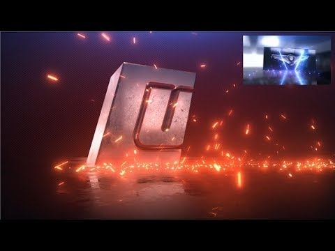 After Effects Template: Steel Impact Logo