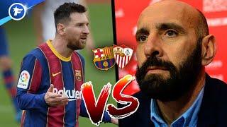 Gros clash entre Lionel Messi et Monchi après Barça-Séville | Revue de presse
