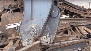 Рельсолом VTN RP2000 - Rail crusher