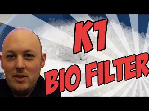 Aquaponics moving bed bio filter ( 50 Litres K1) - Aquaponics