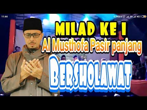 Pasir panjang bersholawat bersama habib MUSTHOFA Al Jufri