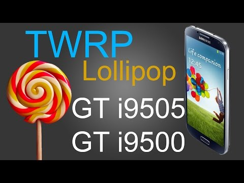 All Samsung S4 S5 Note 3 4 RECOVERY TWRP Lollipop or Kitkat Install