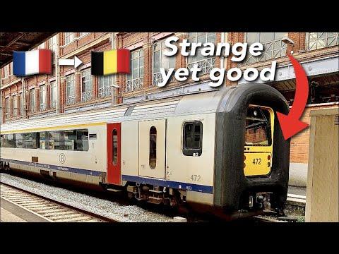 TRIP REPORT | SNCB (2ND CLASS) | AM96 | Lille Flandres🇫🇷 - Tournai 🇧🇪|