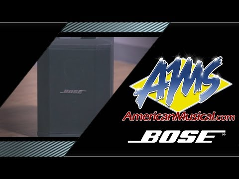 Bose S1 Pro Overview -- American Musical Supply