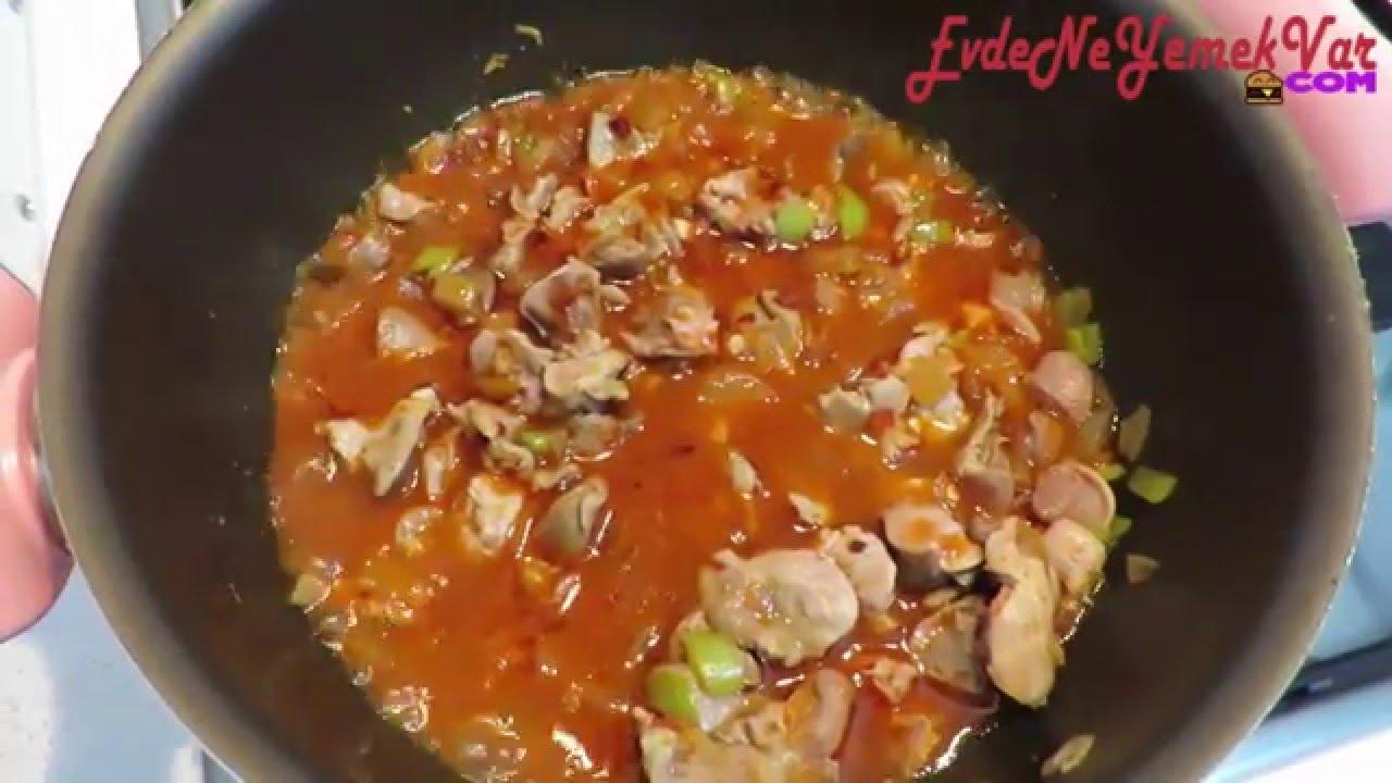 Mantarlı Nohut Yemeği Videosu