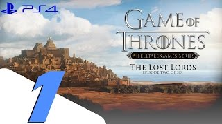 Game of Thrones Telltale Episode 2 - Walkthrough Part 1 - Lost Lords
