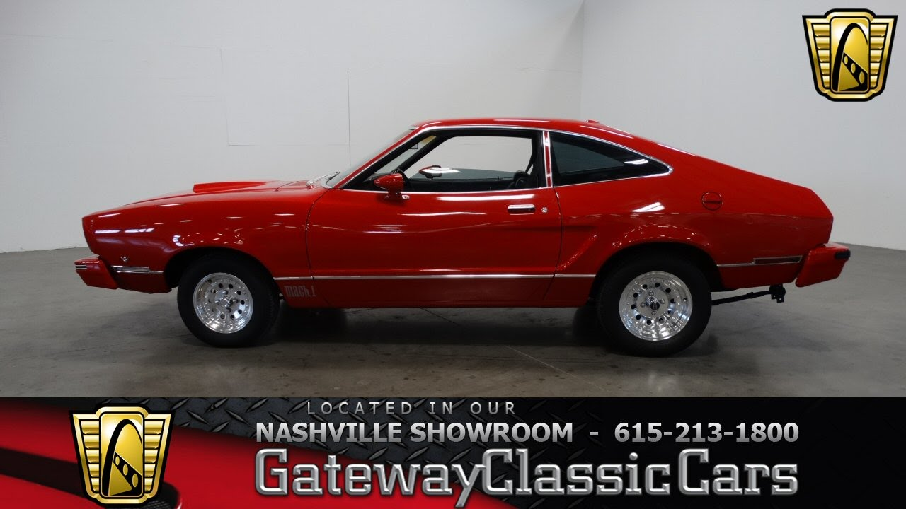 1976 ford mustang mach 1 gateway classic cars nashville 291 youtube. Black Bedroom Furniture Sets. Home Design Ideas