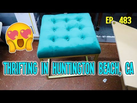 THRIFTING IN HUNTINGTON BEACH, CA | GOODWILL HUNTING EP. 483