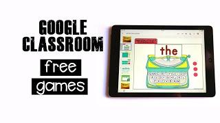 Google Classroom Games Kindergarten | Free Download