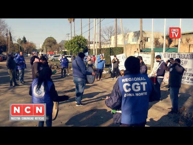 CINCO TV - Conflicto por falta de pago a trabajadores en la Planta Legacy Tortuguitas