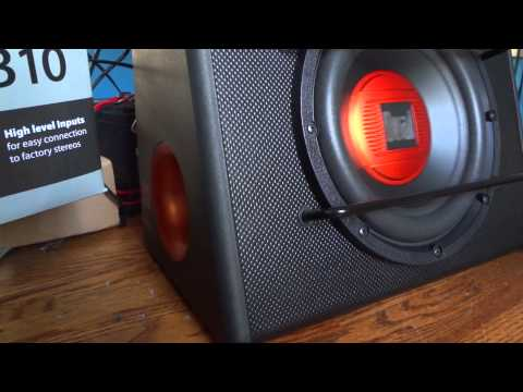 "Dual ALB10 Demo - 10"" Powered Subwoofer 300 Watts"