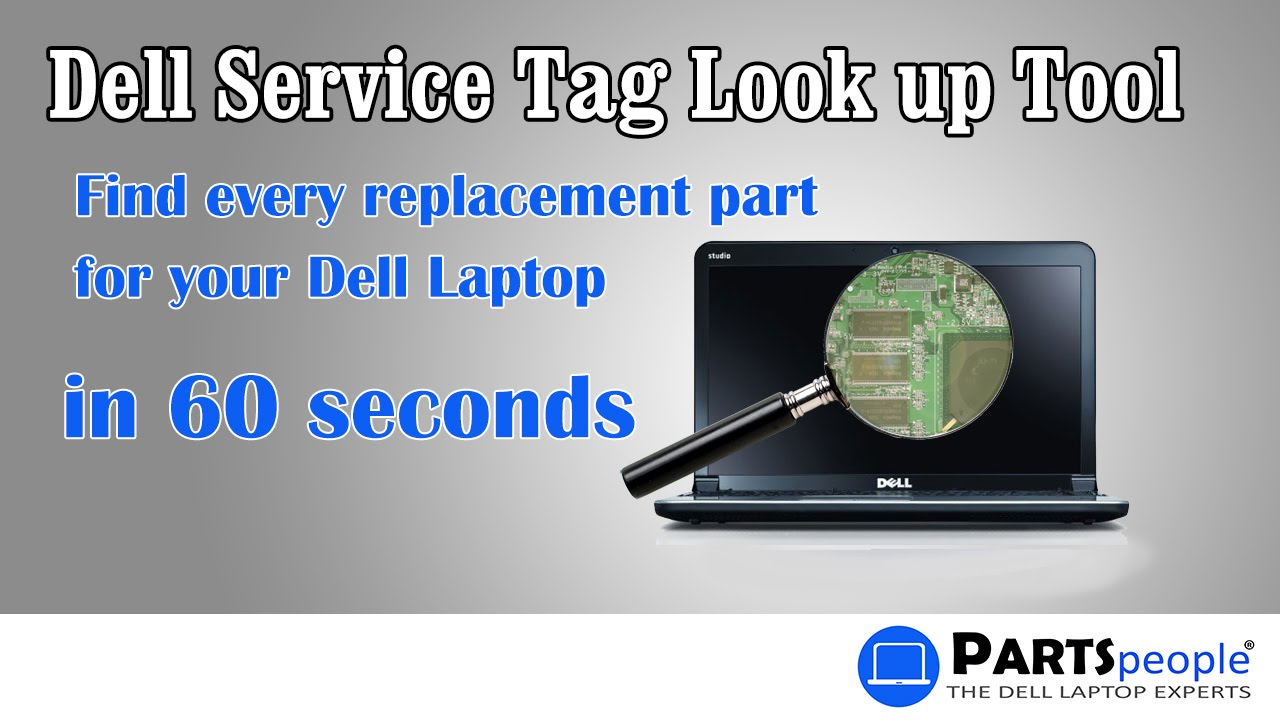 How to Find Your Dell Laptop Make and Model | Dell Service Tag Search