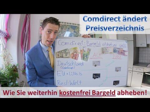 Preisverzeichnis Comdirect