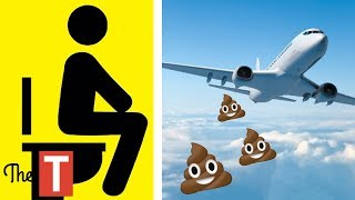 Top 10 Airlines - This Is What Happens When You Flush An Airplane Toilet