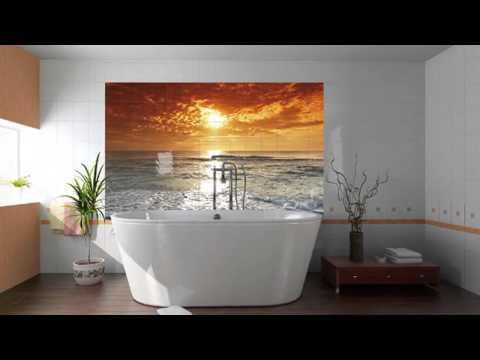 Кафельная плитка для ванной комнаты характеристики и фото