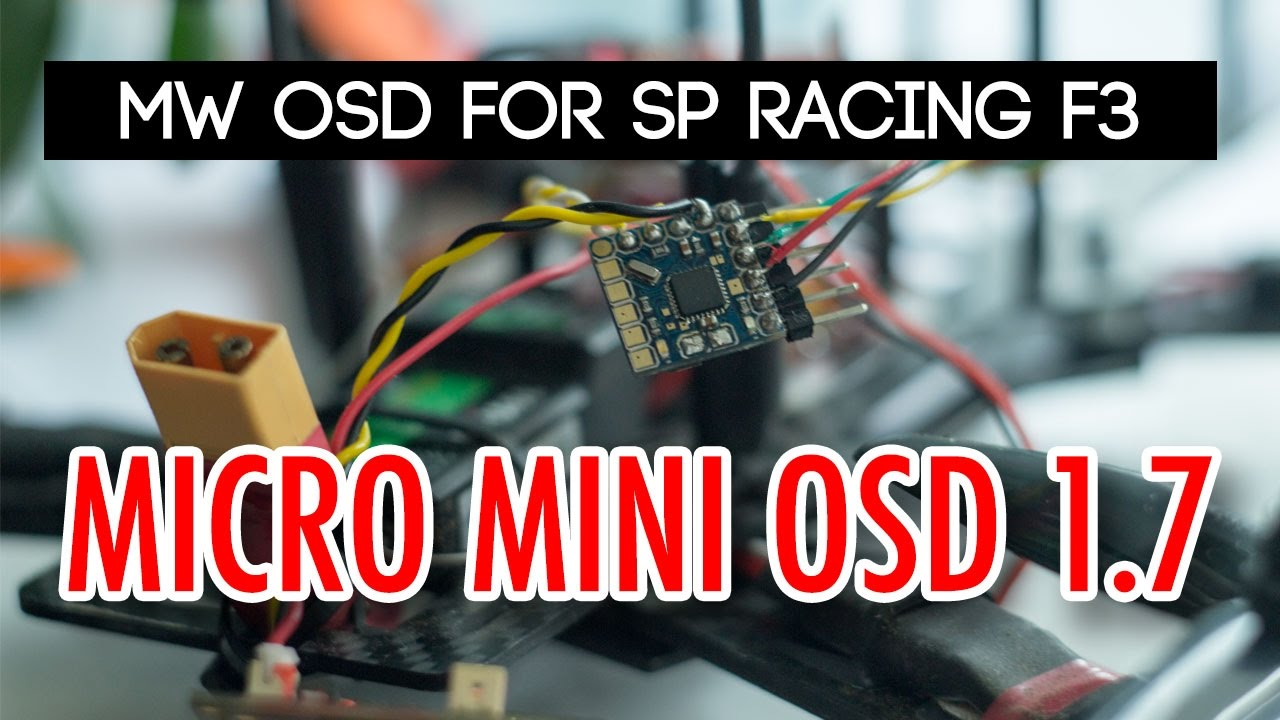 Mwosd R 1 7 Micro Minimosd How To Setup And Connect Osd