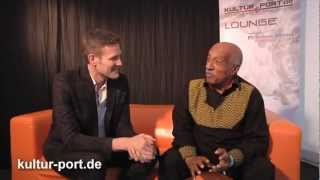 Mulatu Astatke Interview ELBJAZZ WebTV Lounge von Kultur-Port.De