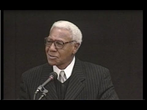 """An Evening with John """"Buck"""" O'Neil and his Memories of the Negro Baseball Leagues"""