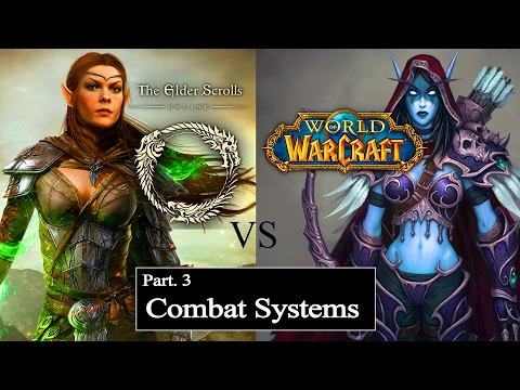 Not Even Close! Comparing the Combat systems of: WoW vs ESO