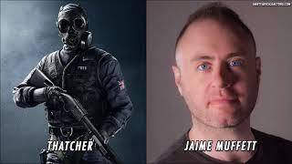 Thatcher Voice Actor And Voice Lines - Rainbow Six Siege