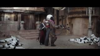 Star Wars: Rogue One - Chirrut Imwe Fight Scenes